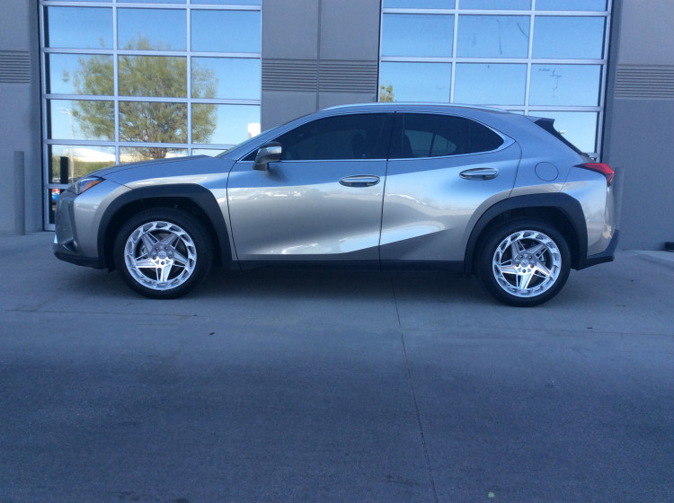 Lexus UX200 with 18x8.5 REGEN 5 R35 wheels