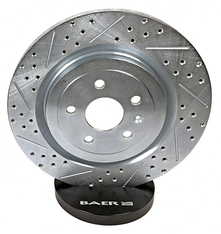 Toyota Tundra Slotted Brake Rotors