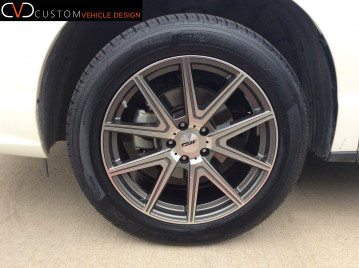 Acura RDX TSW Rouge wheels 19X8.5 wrapped in 255/50/19 Hankook Ventus tires