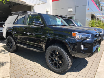 Toyota 4Runner With 20 inch Black Rhino Tembe wheels and 275/65/20 BFG all terrain tires