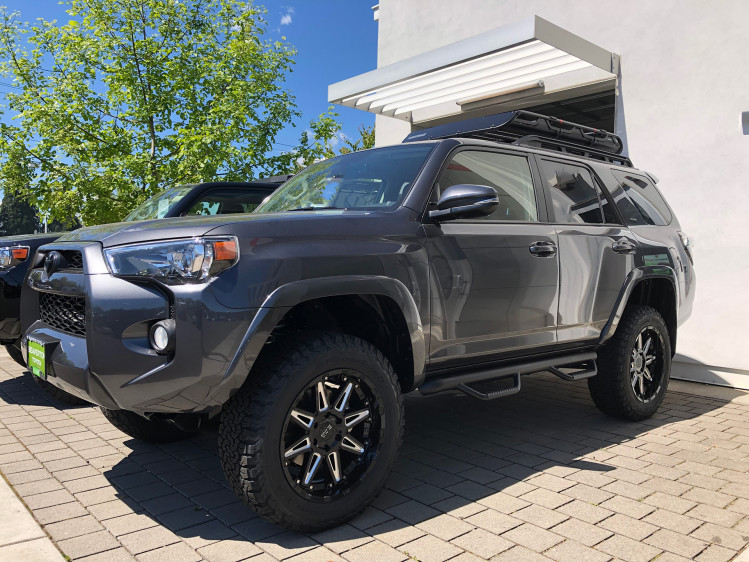 Toyota 4Runner With 20 inch Black Rhino Rush wheels and 275/60/20 Bfg tires