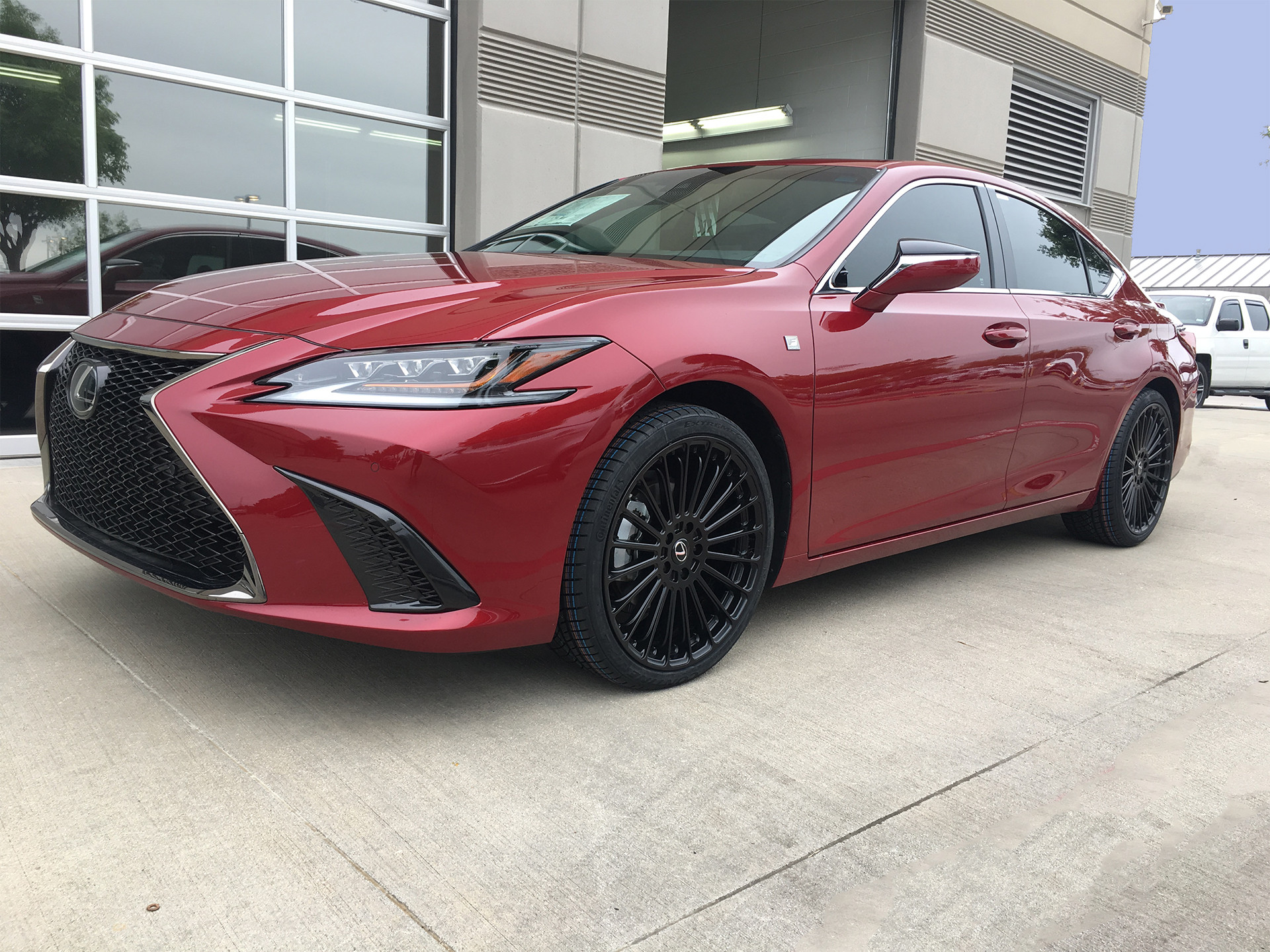 Lexus ES350 F-sport with TSW Turbina wheels