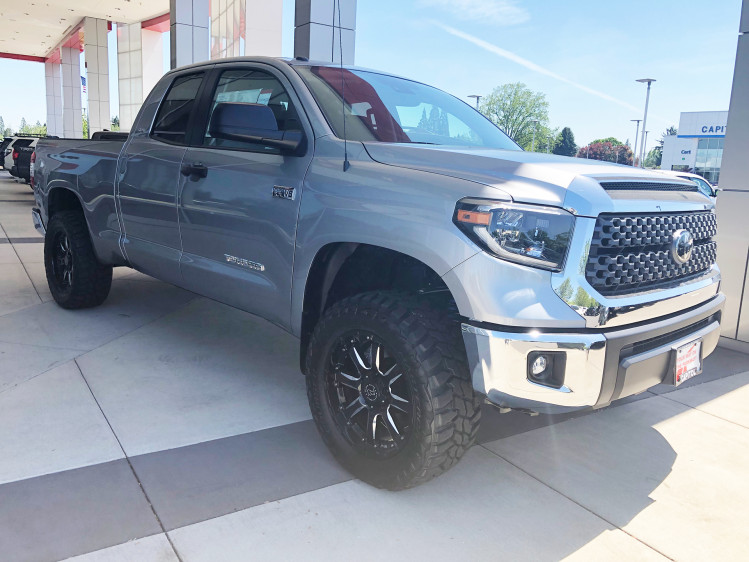 Toyota Tundra With black rhino Sierra wheels