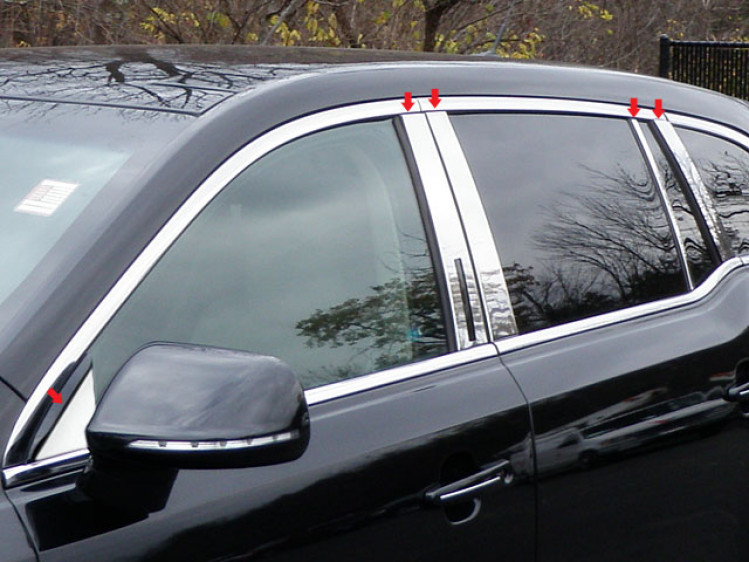 Lincoln MKT B-Post Moulding
