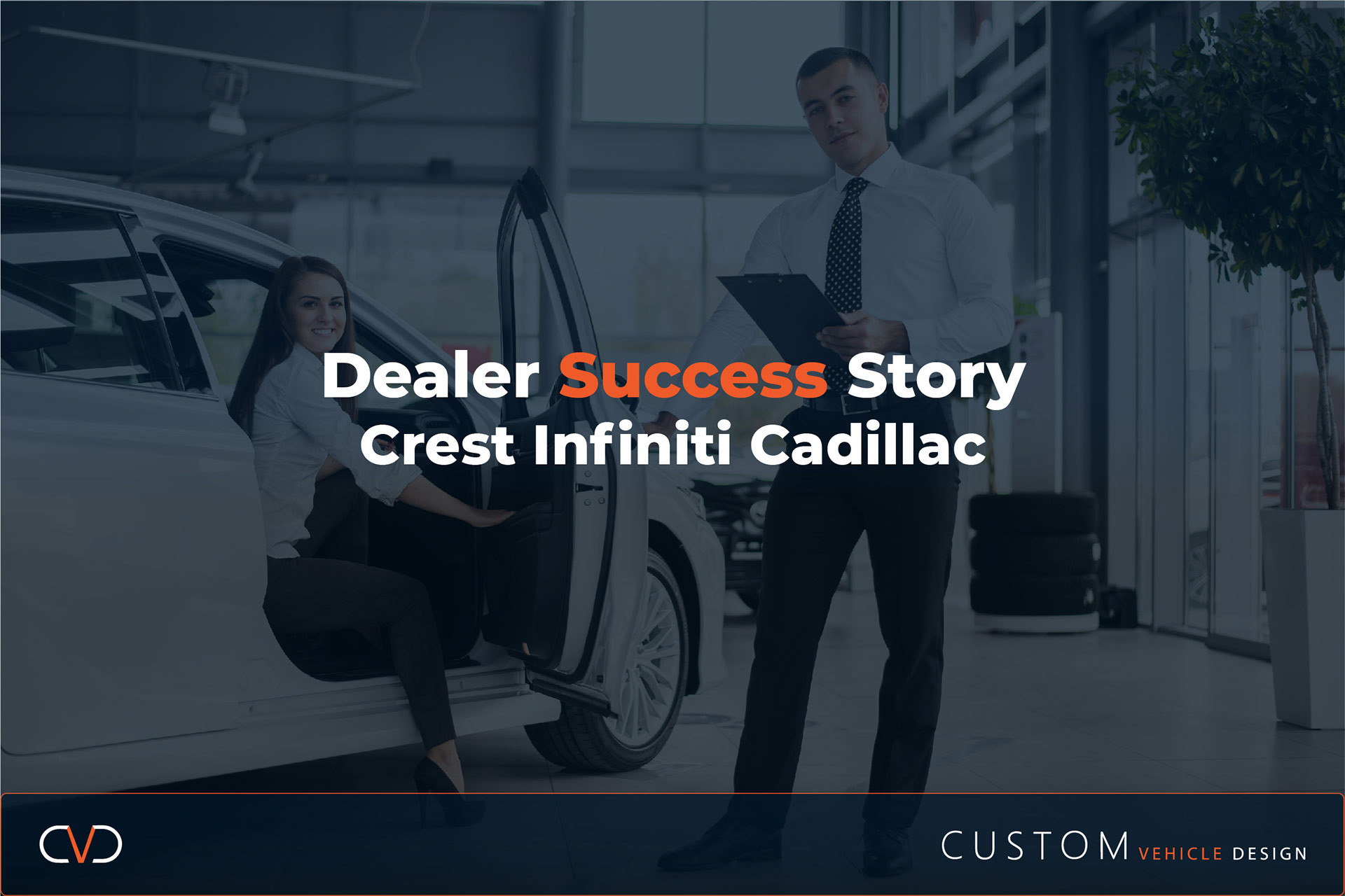 Auto Accessories: Dealer Success Story - Crest Infiniti Cadillac, Frisco, TX On Track To Exceed $1.5 Million In Aftermarket Sales