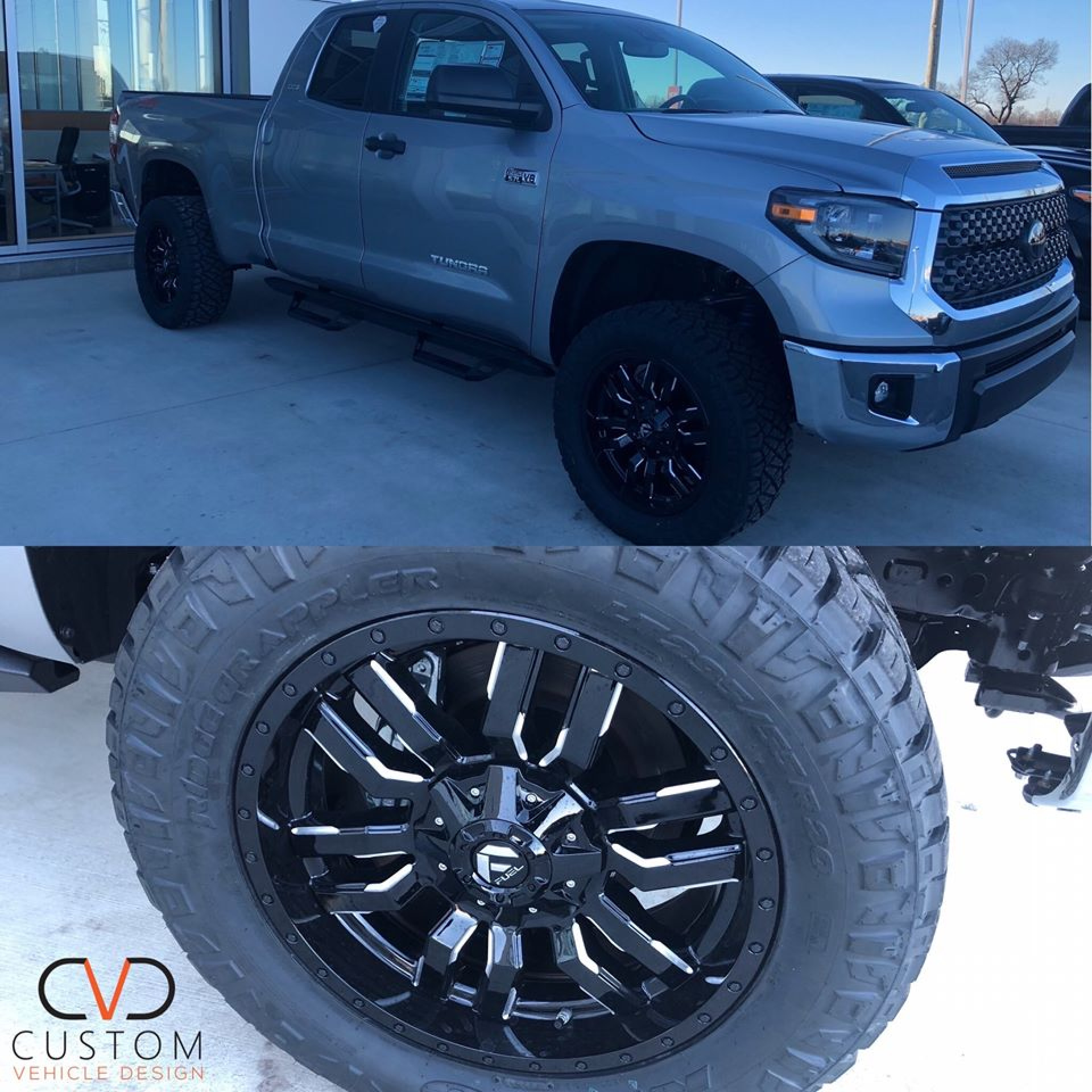Toyota Tundra with Feul wheels and Nitto Tires