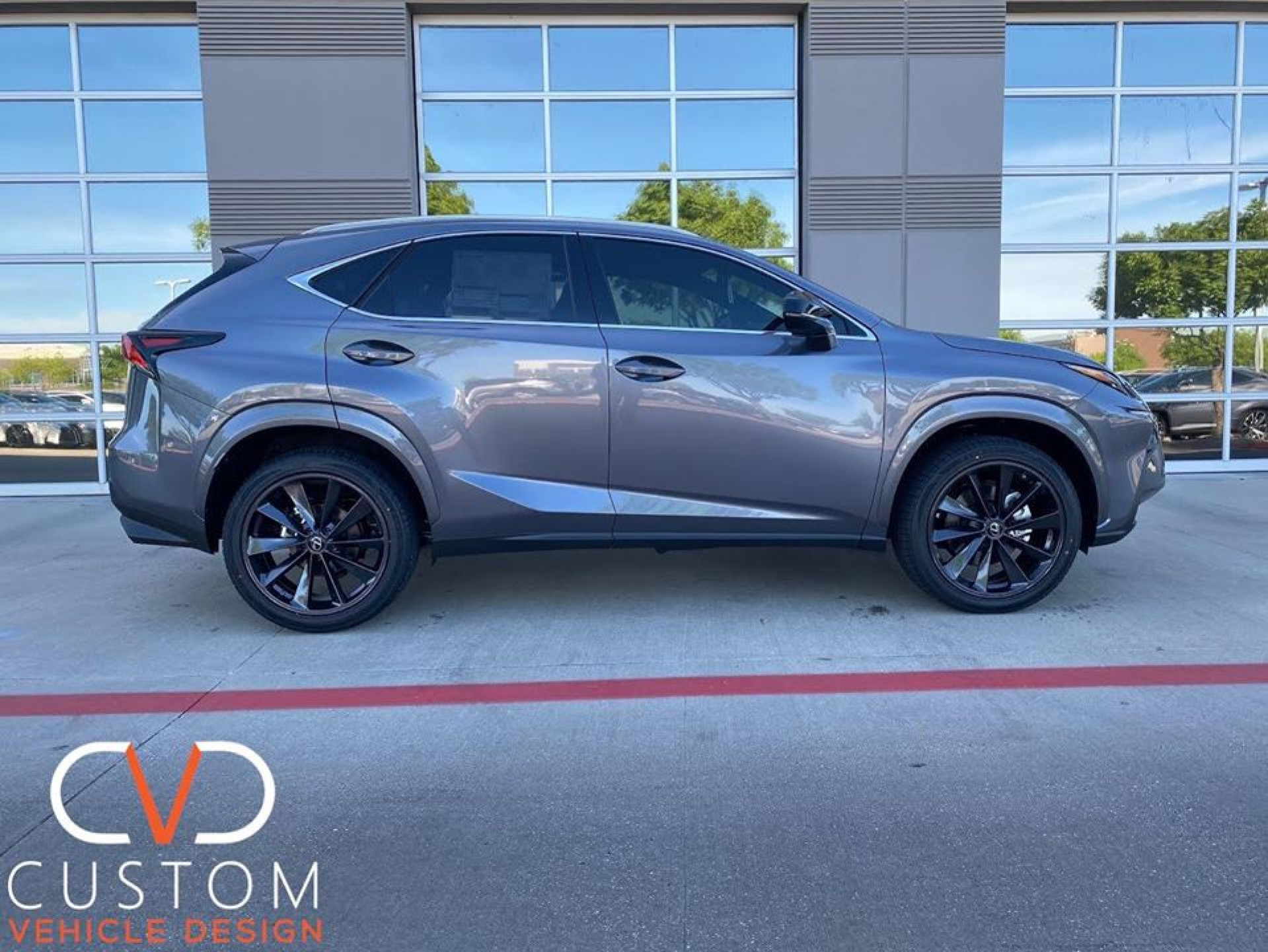 """Lexus NX300 with 20"""" TSW Aileron wheels and Vogue Signature V Tyres"""