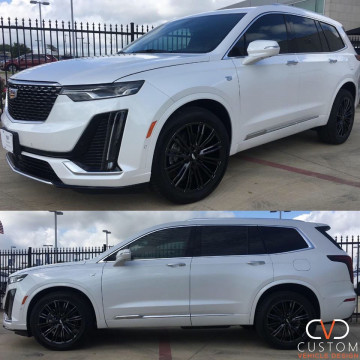 2020 Cadillac XT6 with Vogue VT386 wheels
