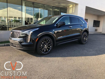 2020 Cadillac XT6 with Vogue wheels and Tyres
