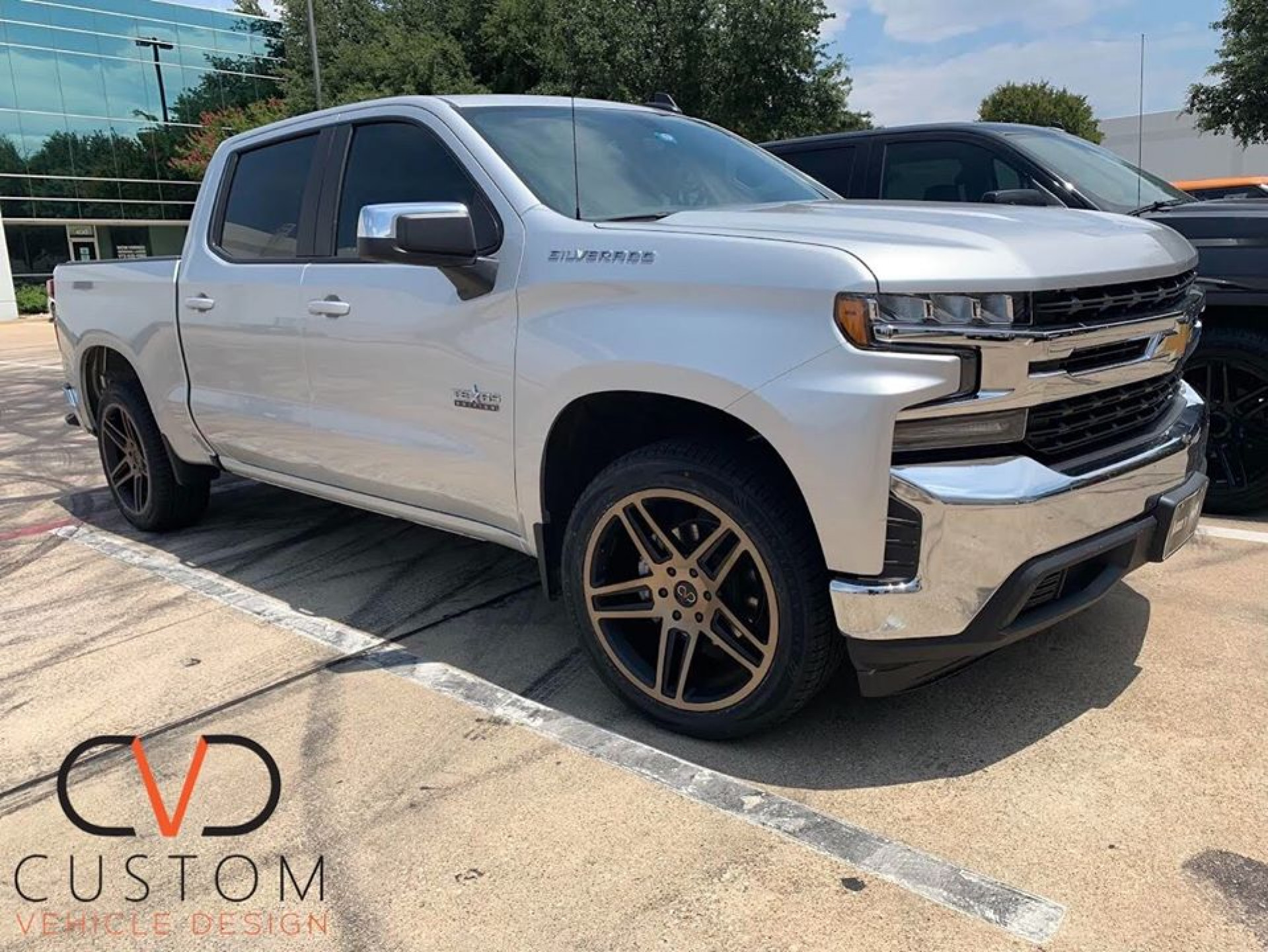 Chevrolet Silverado with Black Rhino Safari wheels and Vogue Signature V Tyres