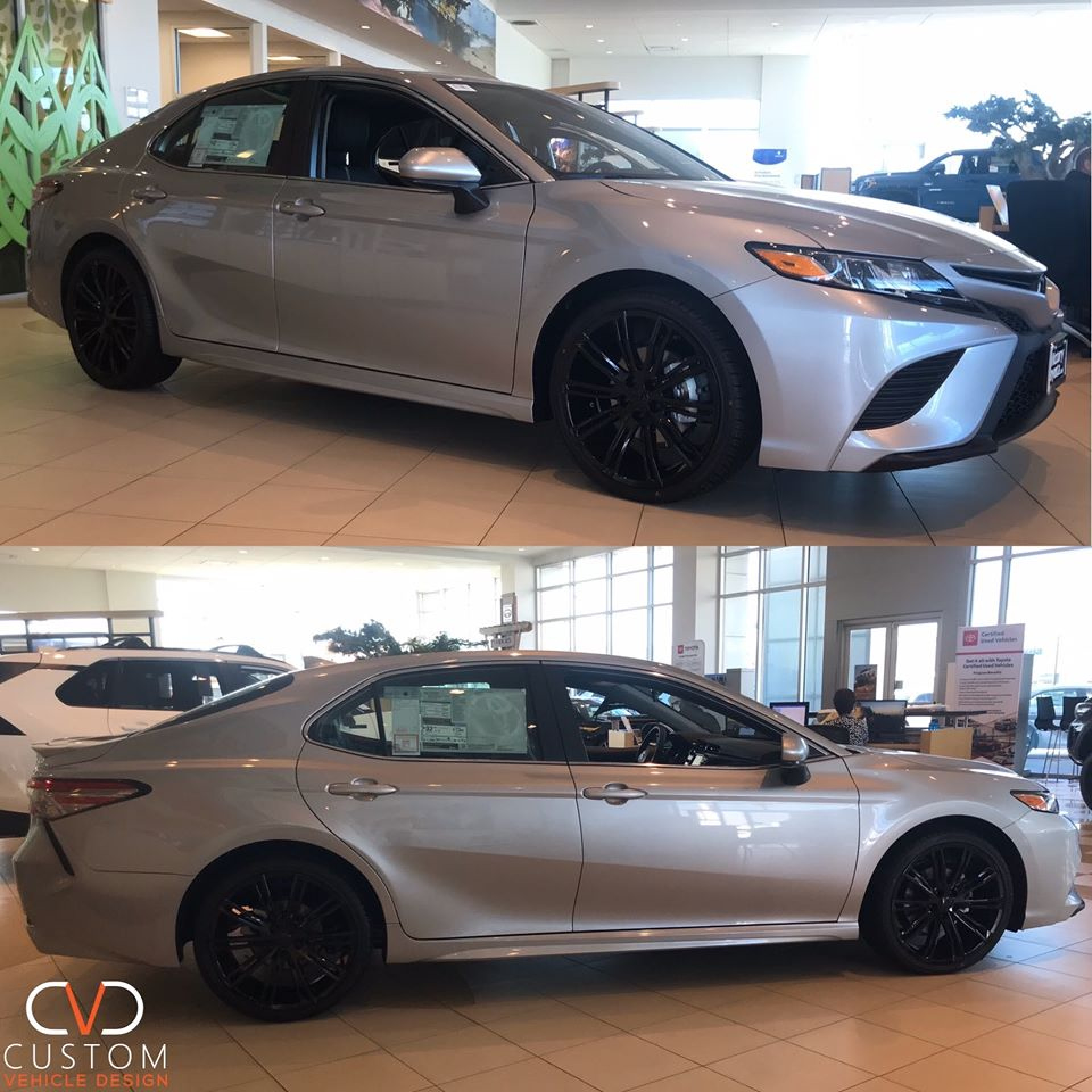 "2019 Toyota Camry With 20"" VT386 Vogue wheels"
