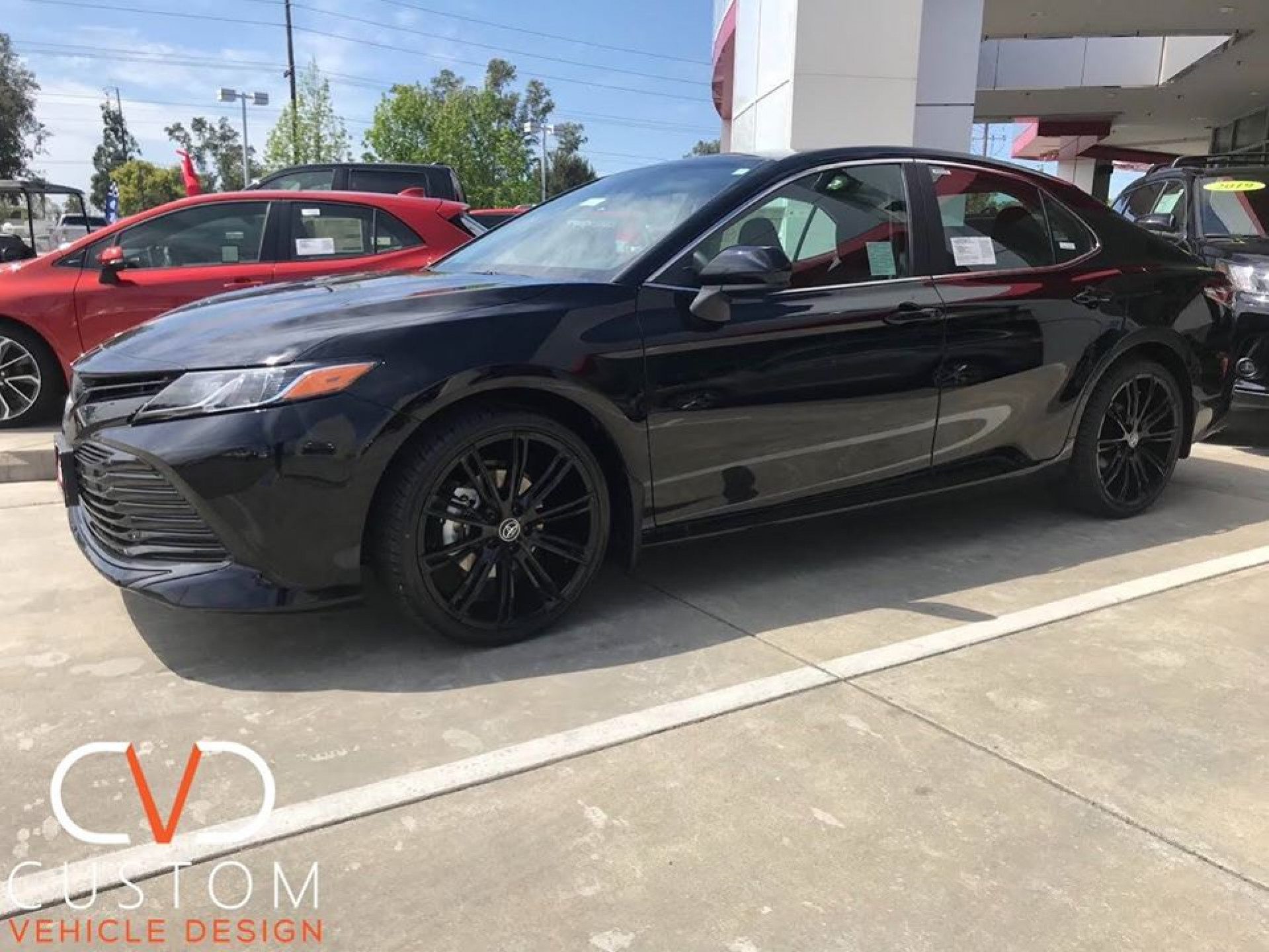 2020 Toyota Camry with Vogue VT386 wheels
