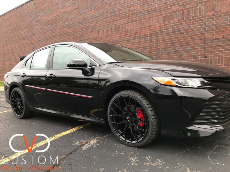 2020 Toyota Camry Customized by CVD. Call us to today to customize your vehicle!