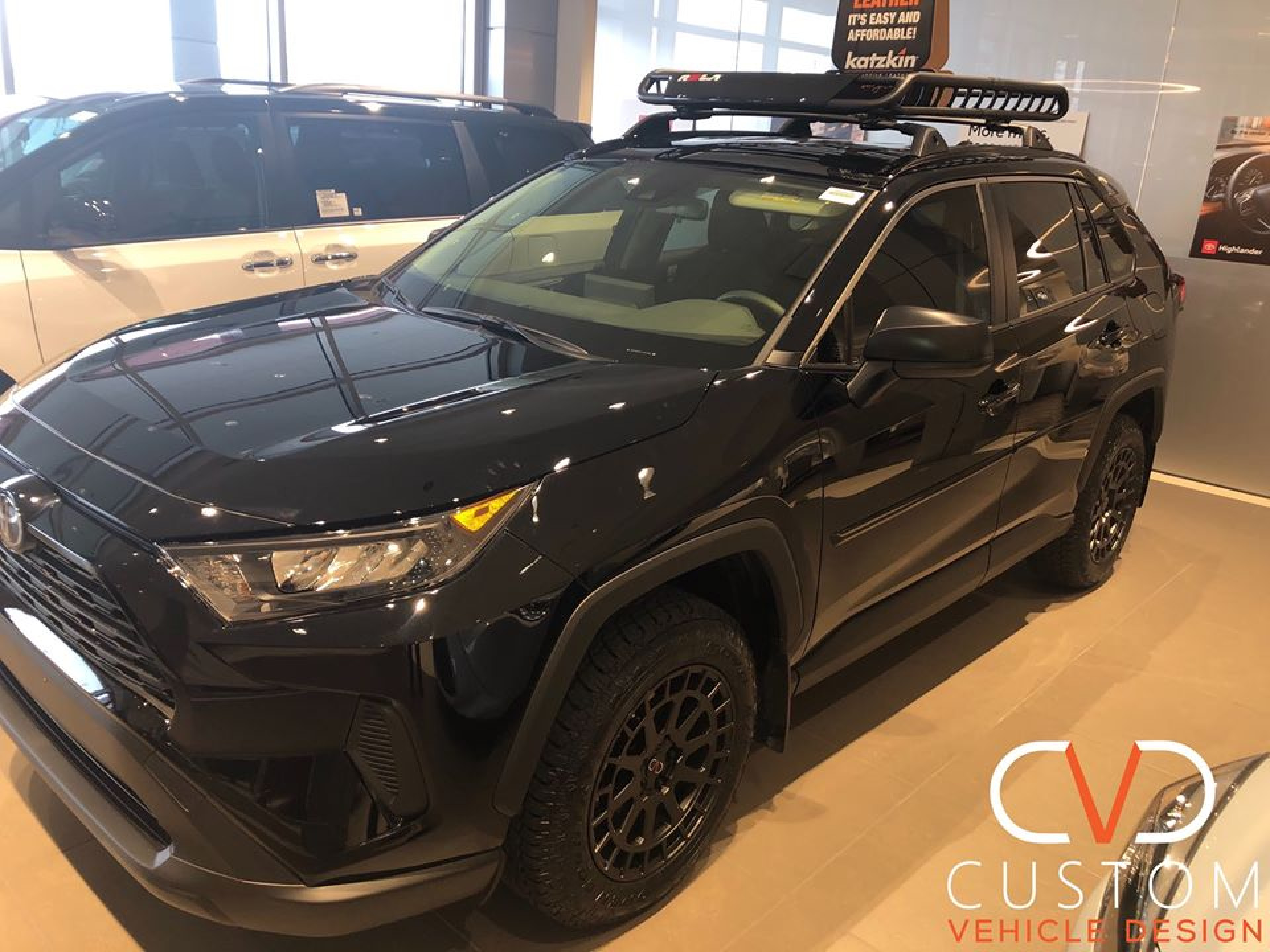 2020 Toyota RAV4 with (CVD Overland Package) Black Rhino wheels