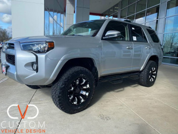 2020 Toyota 4Runner with Black Rhino Pinatubo wheels