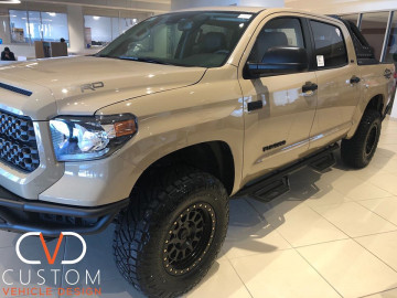 2020 Toyota Tundra TRD with Black Rhino wheels