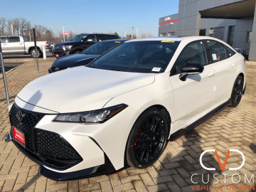 2020 Toyota Avalon with the TRD package and ground kit