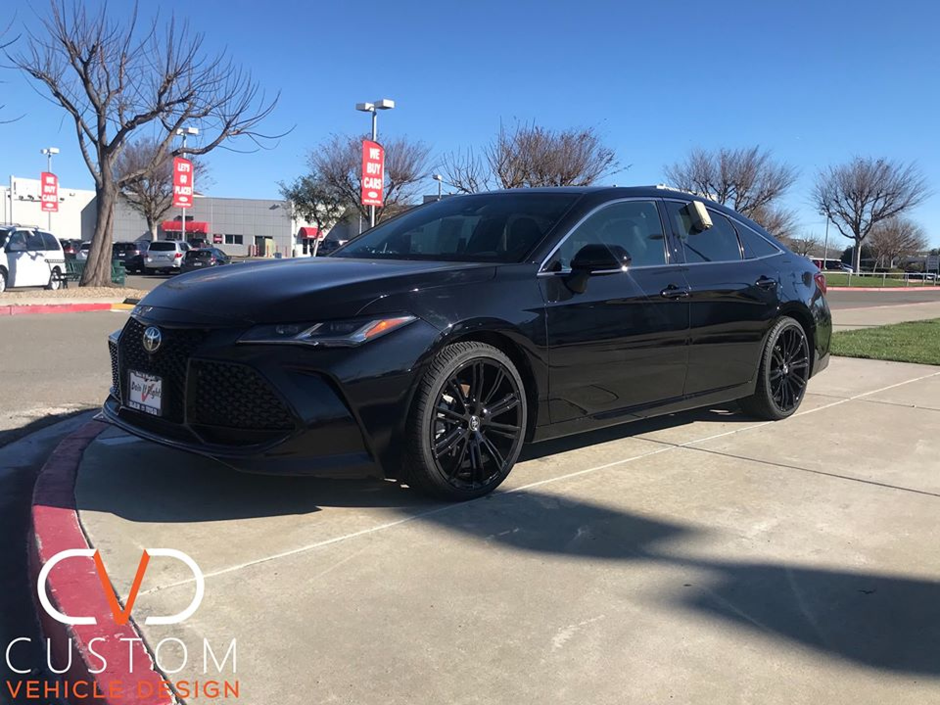 "2020 Toyota Avalon with 20"" Vogue VT386 wheels and Signature V tires"