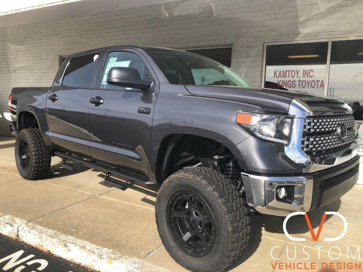 2019 Toyota Tundra with KMC wheels done by CVD