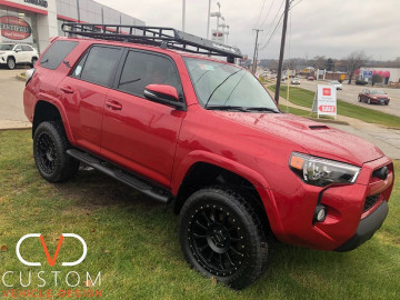 Toyota 4 Runner with Pro Comp wheels