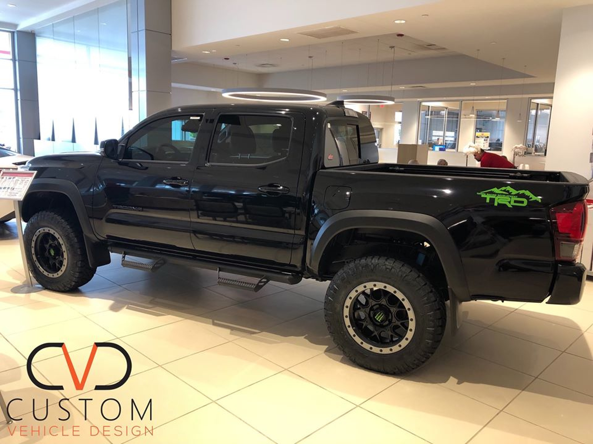 Toyota Tacoma customized by CVD