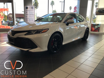 2020 Toyota Camry With the CVD Package!