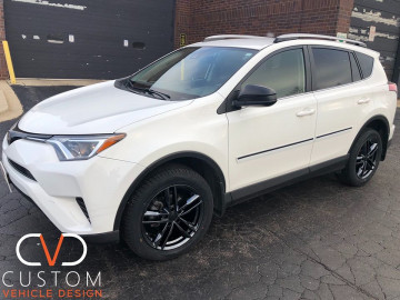 2020 Toyota RAV4 with Vogue VT377 wheels and tyres (Onxy Edition)