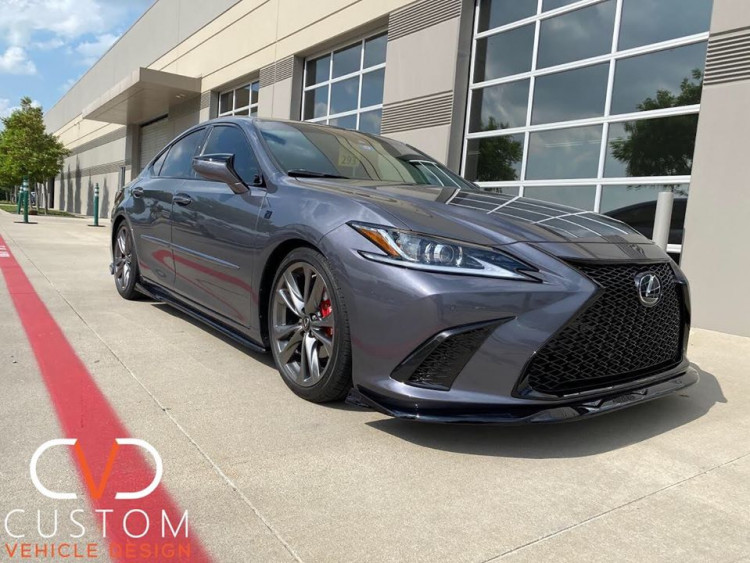 Lexus ES350 F-sport blacked out by CVD