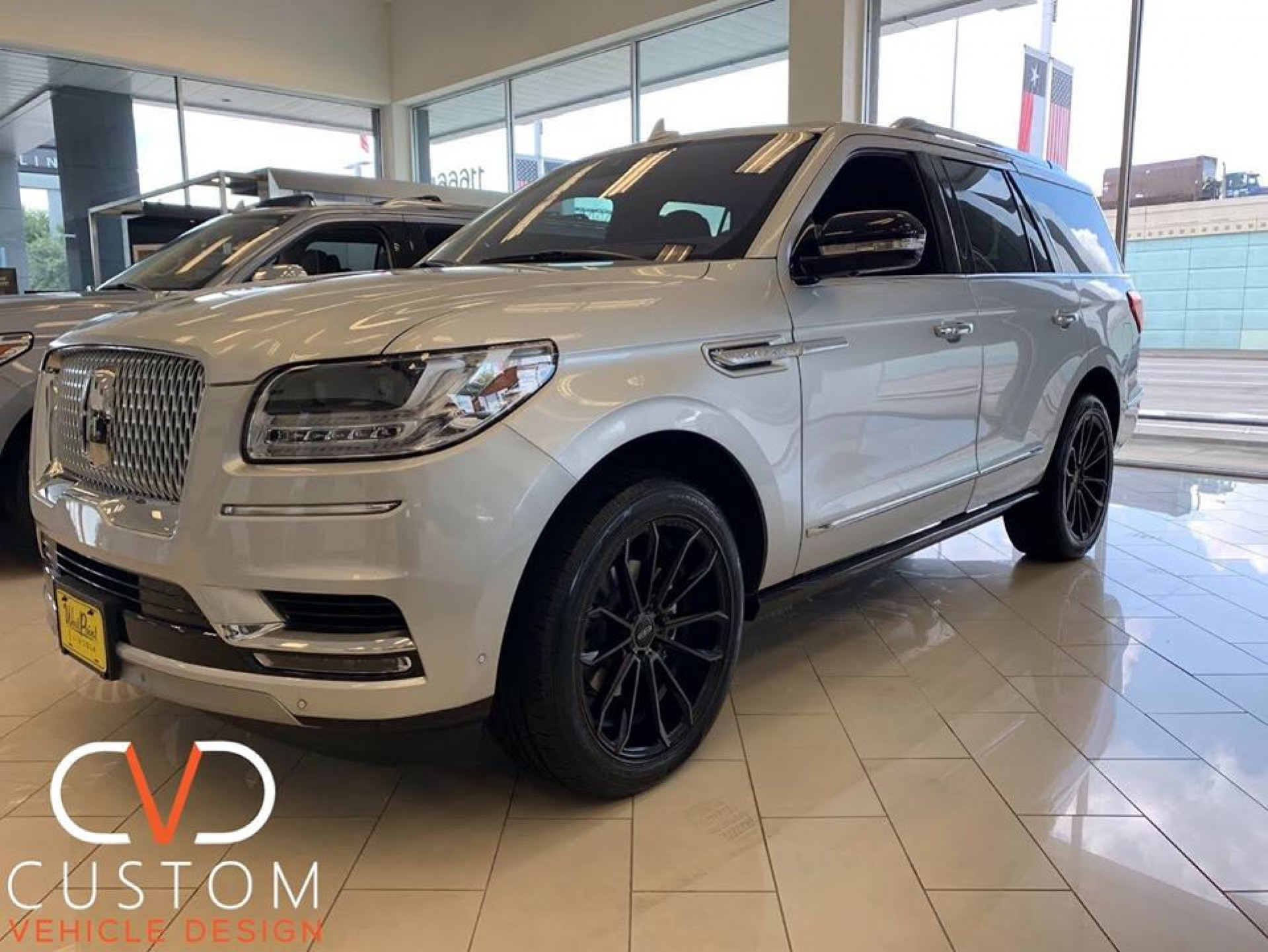2020 Lincoln Navigator with Status Mastodon wheels