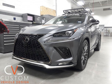 "Lexus NX300 F-sport with 20"" RX350 F-sport replica wheels ⠀"