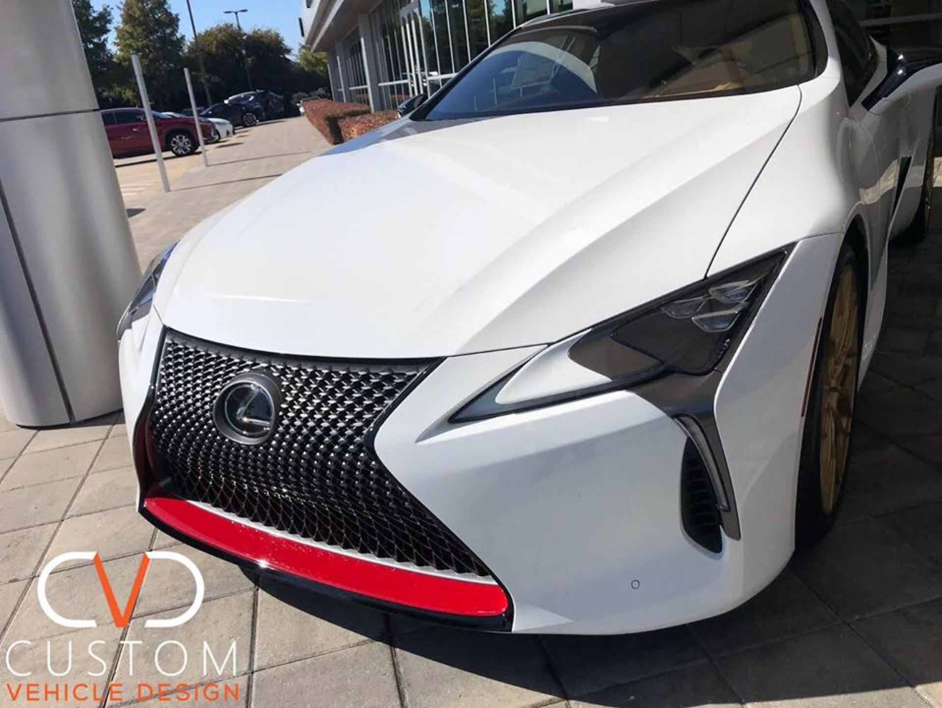 """2019 Lexus LC500 with 21"""" HF2 Gloss Gold wheels ⠀"""