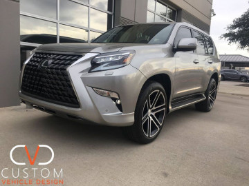 "2020 Lexus GX460 with 22"" Black Rhino Timbavati wheels ⠀"