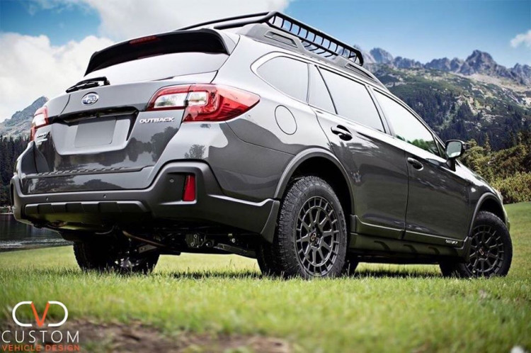 2019 Subaru Outback Overland Edition with Boxer wheels ⠀