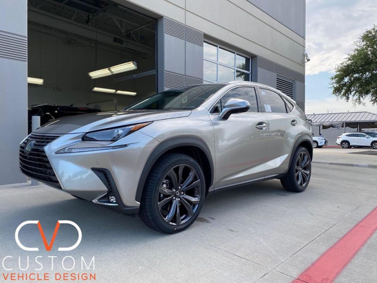 """2020 Lexus NX300 with 20"""" RX Wheels and Vogue Signature V Tyres"""